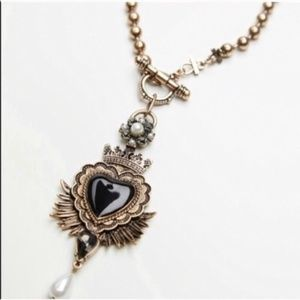 Free people heart necklace NEW!